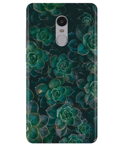 Envy Succulent Redmi Note 4 Cover