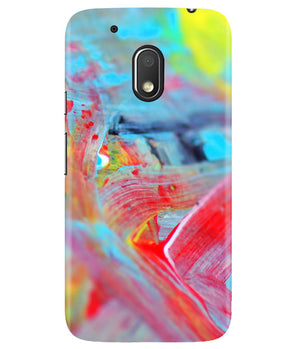 Canvas Strokes Moto G4 Play Cover