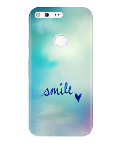 Just Smile Google Pixel Cover