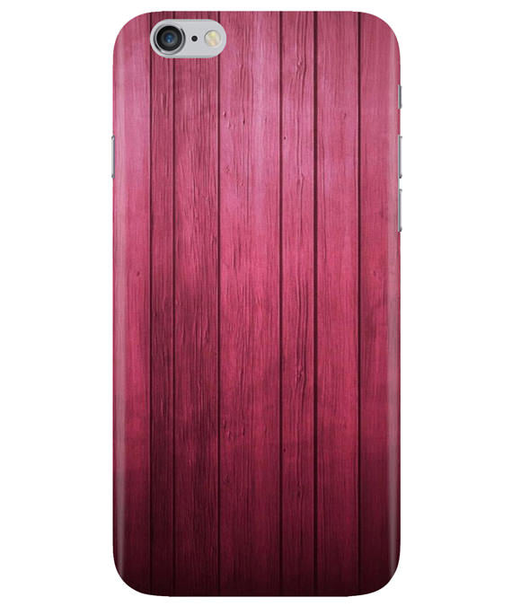 Raspberry Wood iPhONE 6PLUS Cover