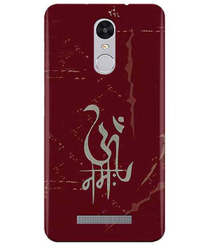 Om Namah Redmi Note 3 Cover