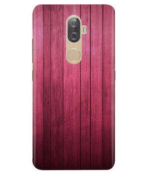 Raspberry Wood Lenovo K8 Plus Cover
