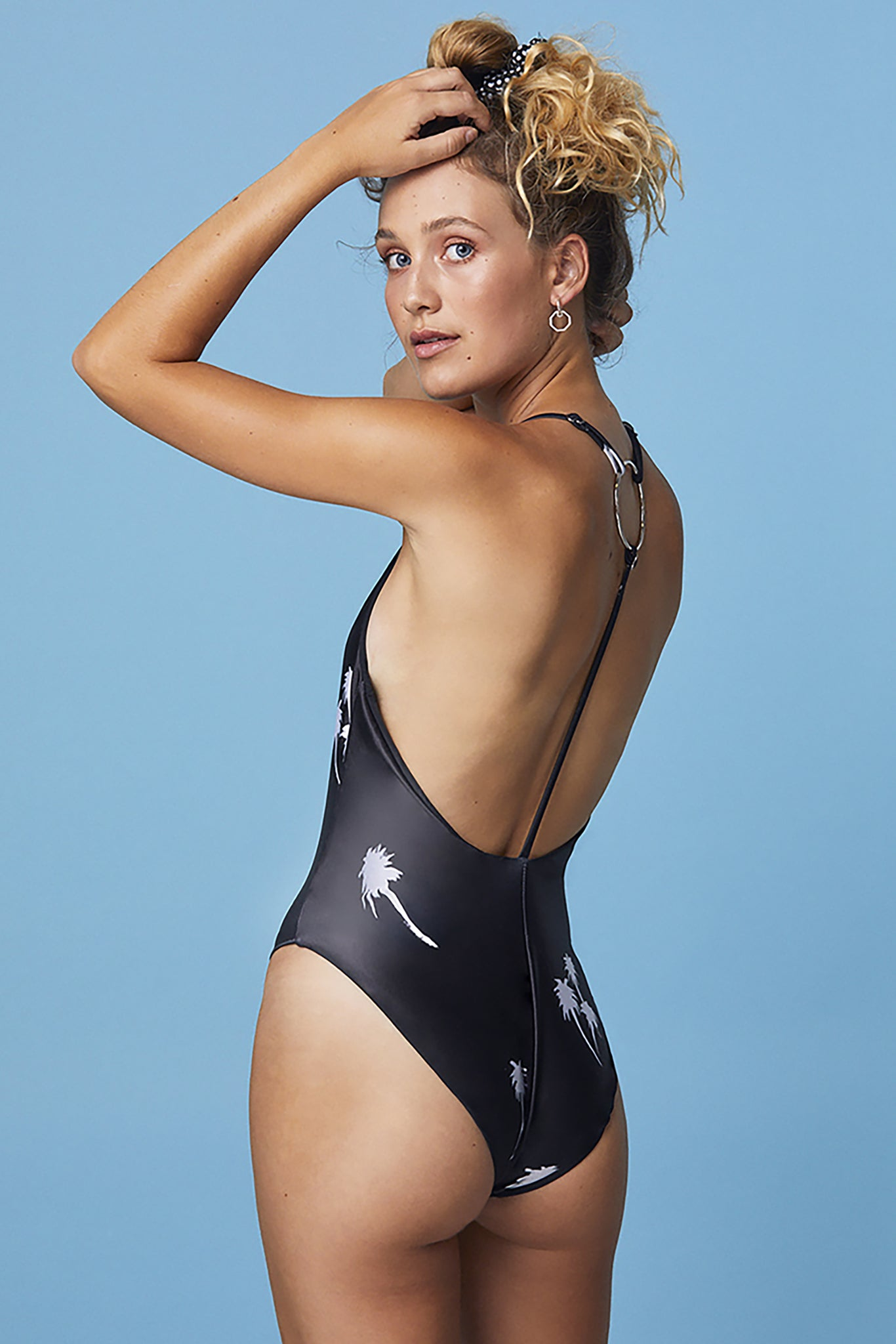 Take The Plunge Swimsuit ~ Midnight Palm
