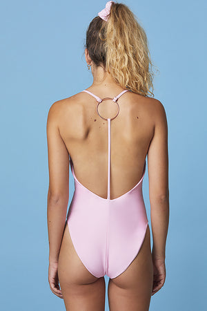 Take The Plunge Swimsuit ~ Sweet Peach