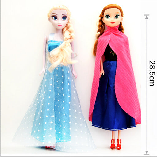 24cm Princess Elsa Anna Doll Snow Queen Children Girls Toys Birthday Christmas Gifts For Kids Sharon Dolls