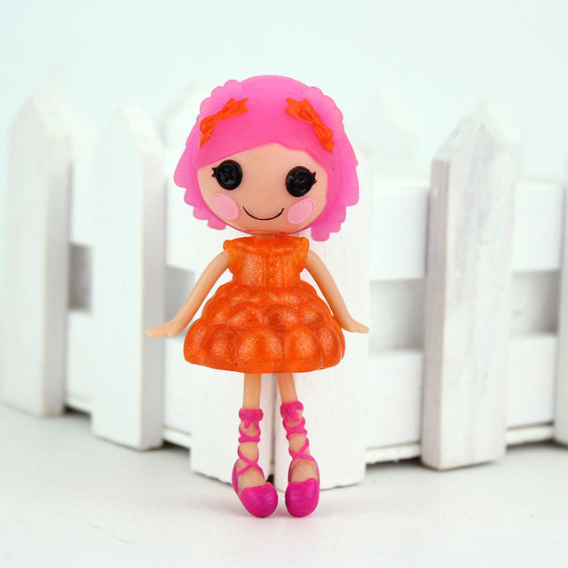 1pcs 3Inch Original MGA Lalaloopsy Dolls Mini Dolls For Girl's Toy Playhouse Each Unique