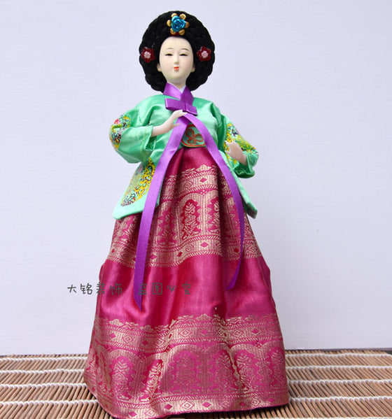 Decoration Arts crafts girl gifts get married Korean folk doll Korean people in South Korea Home Furnishing decorative gifts cra