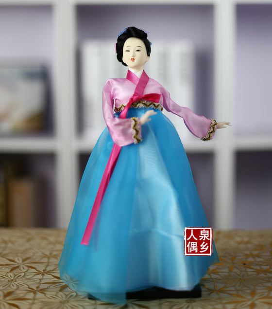 Decoration Arts crafts girl gifts get married South Korean style doll handicraft decoration decoration Home Furnishing restauran