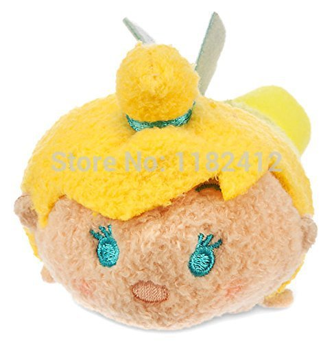Tsum Tsum Mini Plush Tinker Bell Fairies Tinkerbell Doll- Peter Pan Toy Cute Screen Cleaner Kids Toys for Girls Children Gifts