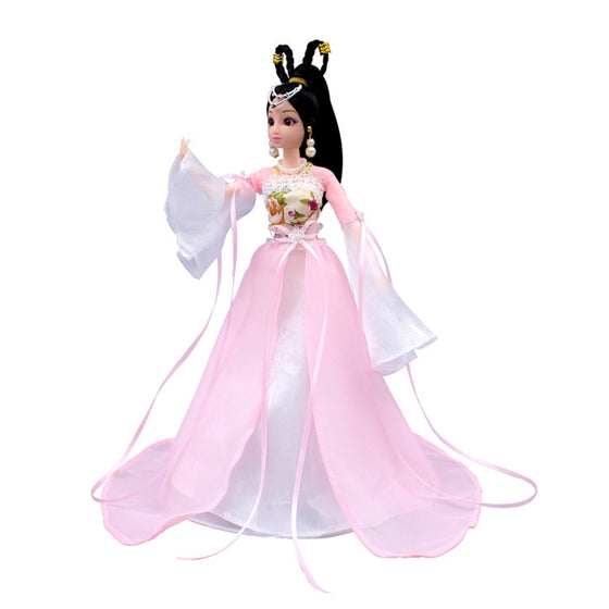 Boutique Costume Barbie Doll Dresses Wedding Dresses Ancient Fairy Costumes Girls Toys Birthday Christmas Gift