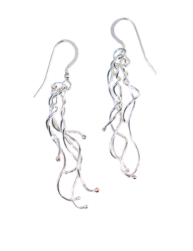 Waterfall, Otways rainforest Earrings