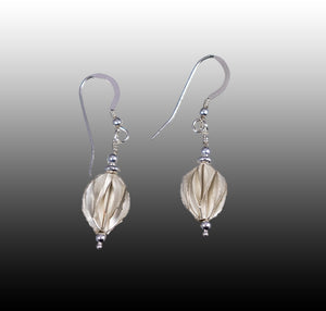 Casuarinas. Silver Earrings