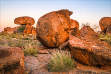 Devils Marbles Earrings