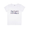Future Female white Tee-shirt