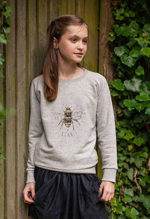 Bee A Star kids sweatshirt