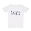 Future Female oversize white Tee-shirt