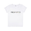 Inspired Tee-shirt White