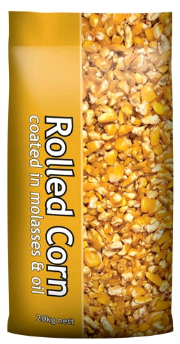 Rolled corn