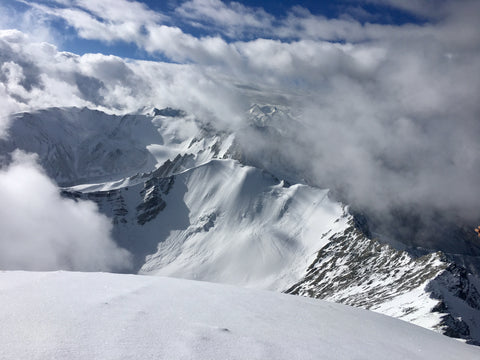 View from Stok Kangri Summit