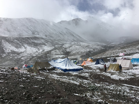 Stok Kangri Summit Attempt Washout due to heavy snowfall