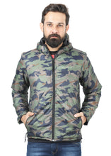 Tripole Men's Winter Jacket 5°C Comfort - Trekking and Daily Use | Digital Camouflage