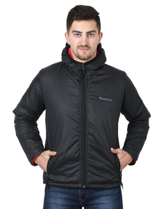 Tripole Men's Winter Jacket 5°C Comfort - Trekking and Daily Use | Black