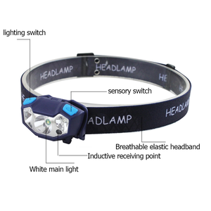 Tripole USB Rechargeable Head Torch