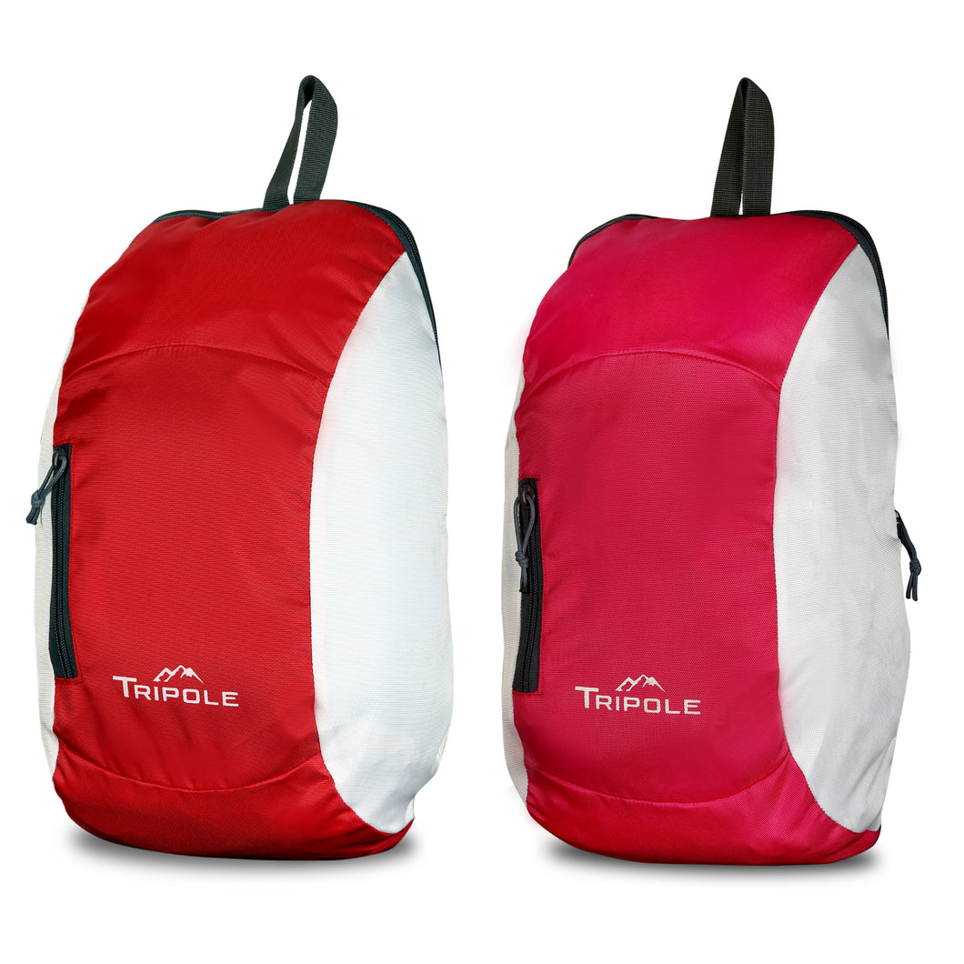 Sprint 10 Litre Backpack Combo | Pack of 2 | Pink Red