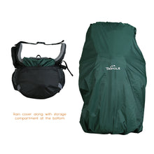 Walker 65 Litre Rucksack (Black & Grey) + Foldable Day Pack