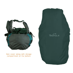 Walker 55 Litre - Trekking and Backpacking | Grey & Sea Green