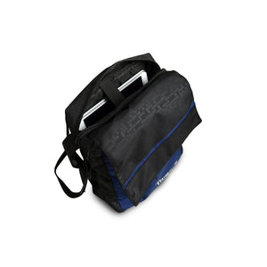 Tripole Messenger and Sling Bag with Tab Pocket (Blue)