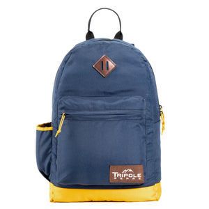 Tripole Vintage Casual Laptop Backpacks for Daily Use | Blue
