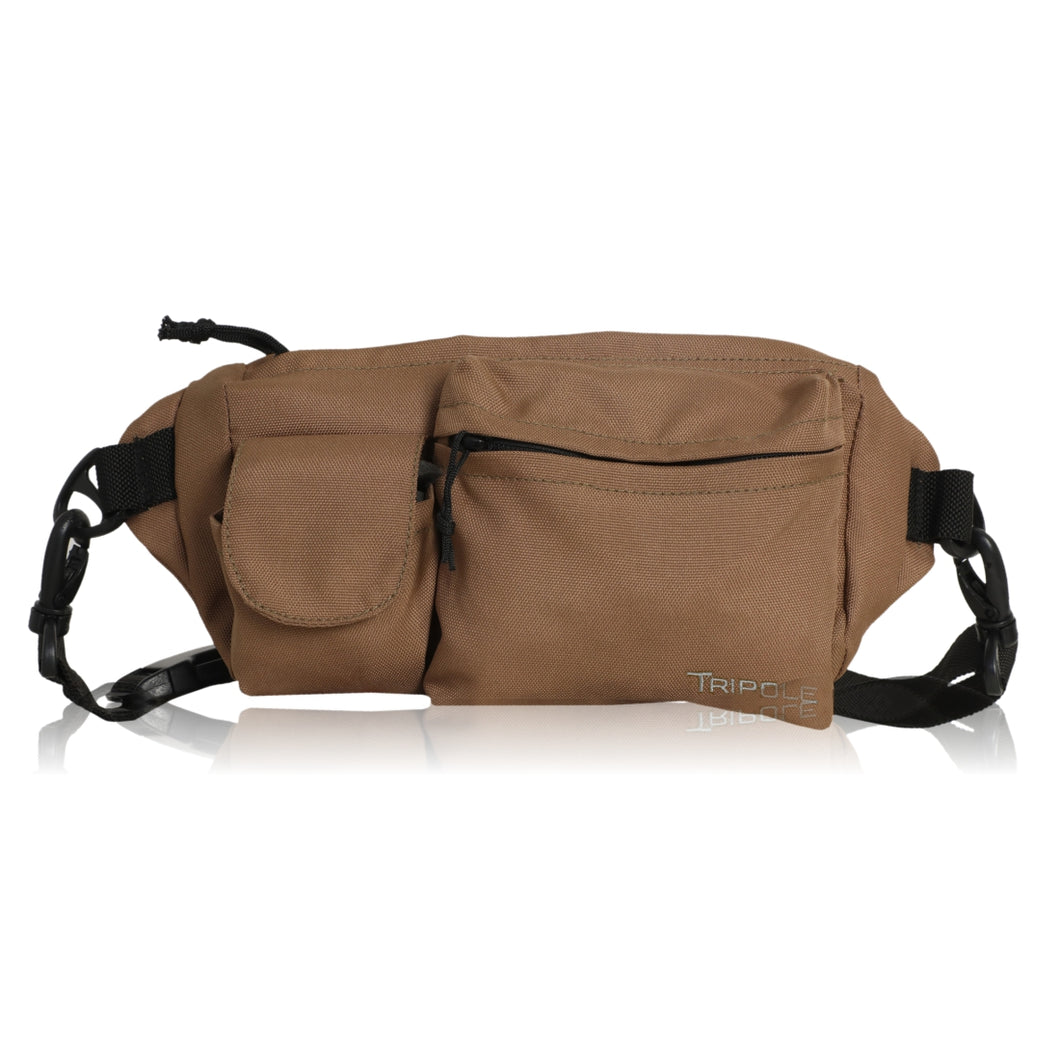 Tripole Waist Pack - Multi-Purpose Fanny Bag | Khaki