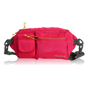 Tripole Waist Pack - Multi-Purpose Fanny Bag | Pink