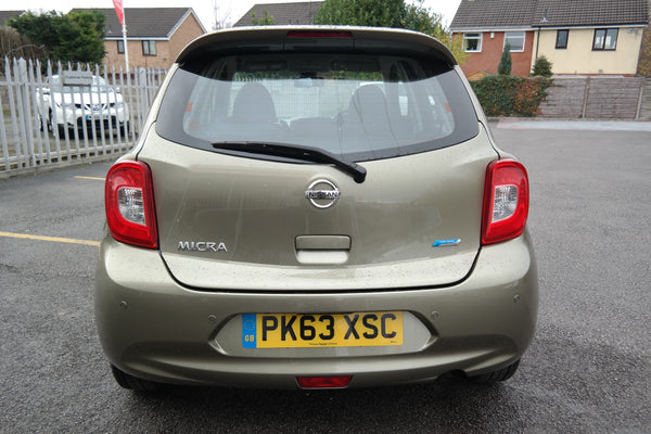 Nissan Micra 1.2 Acenta Limited Edition 5dr 2014