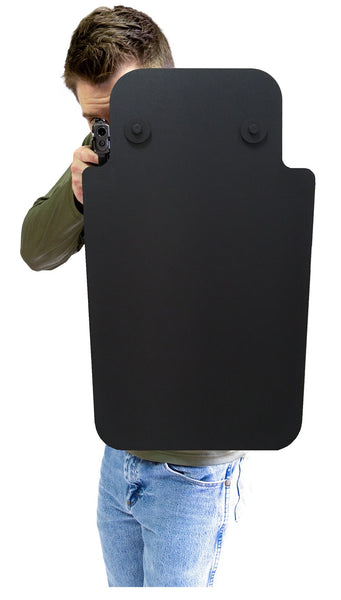 Delta Shield rifle rated ballistic shield AR-15 AK-47 protection