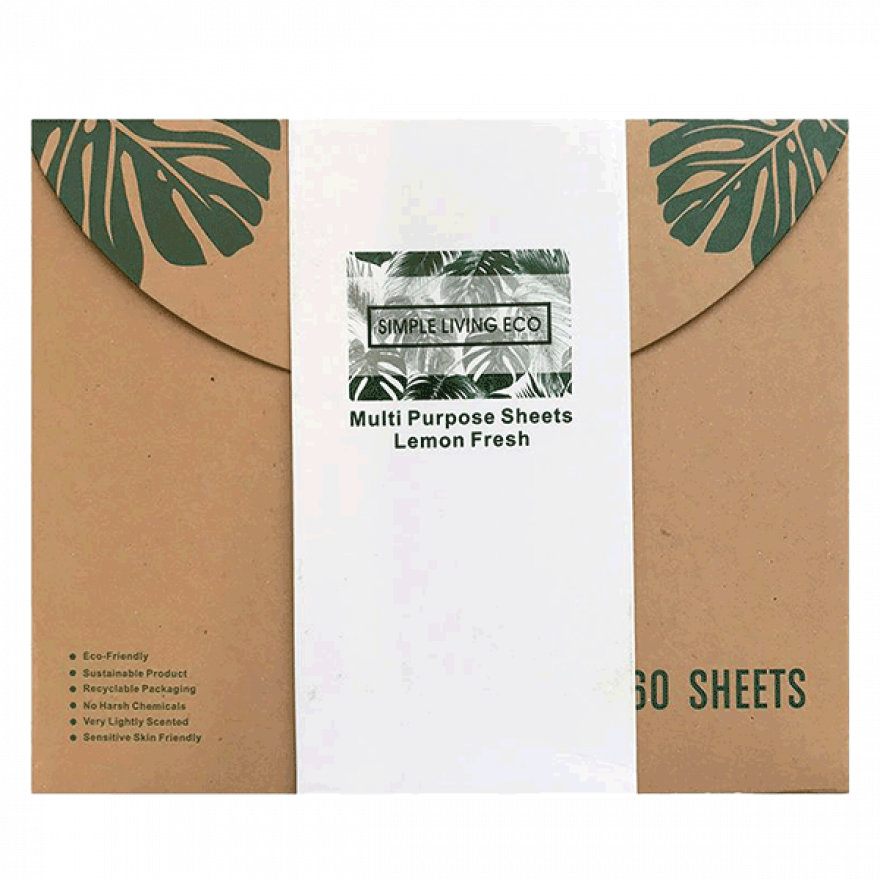 Multi Purpose Sheets (Lemon Fresh)