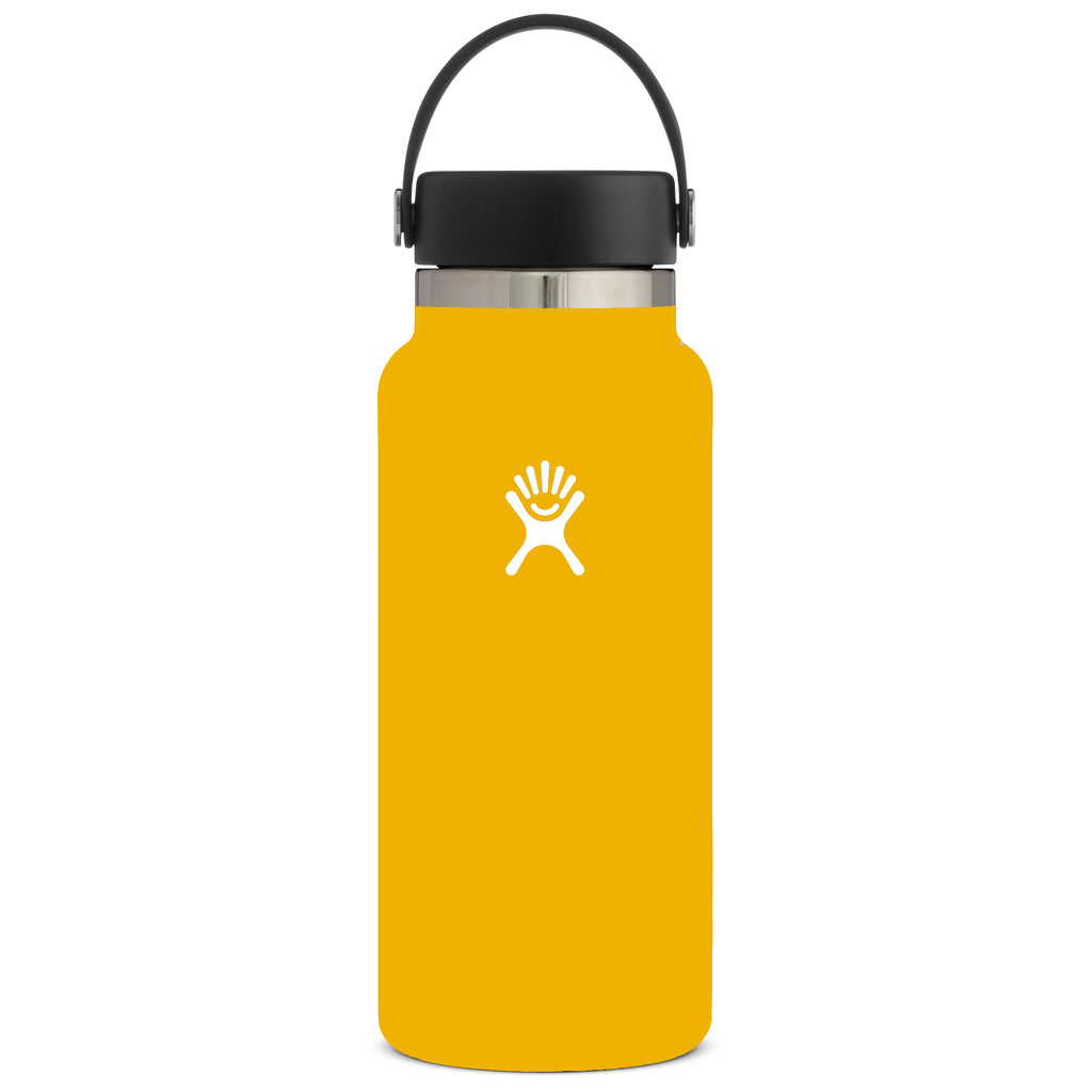 Hydro Flask Insulated Water Bottle Wide Mouth - 20oz (Multiple Colours)