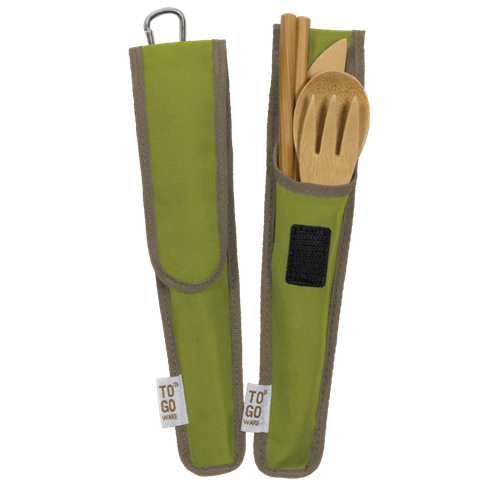 TOGO Adult Bamboo Utensil Set