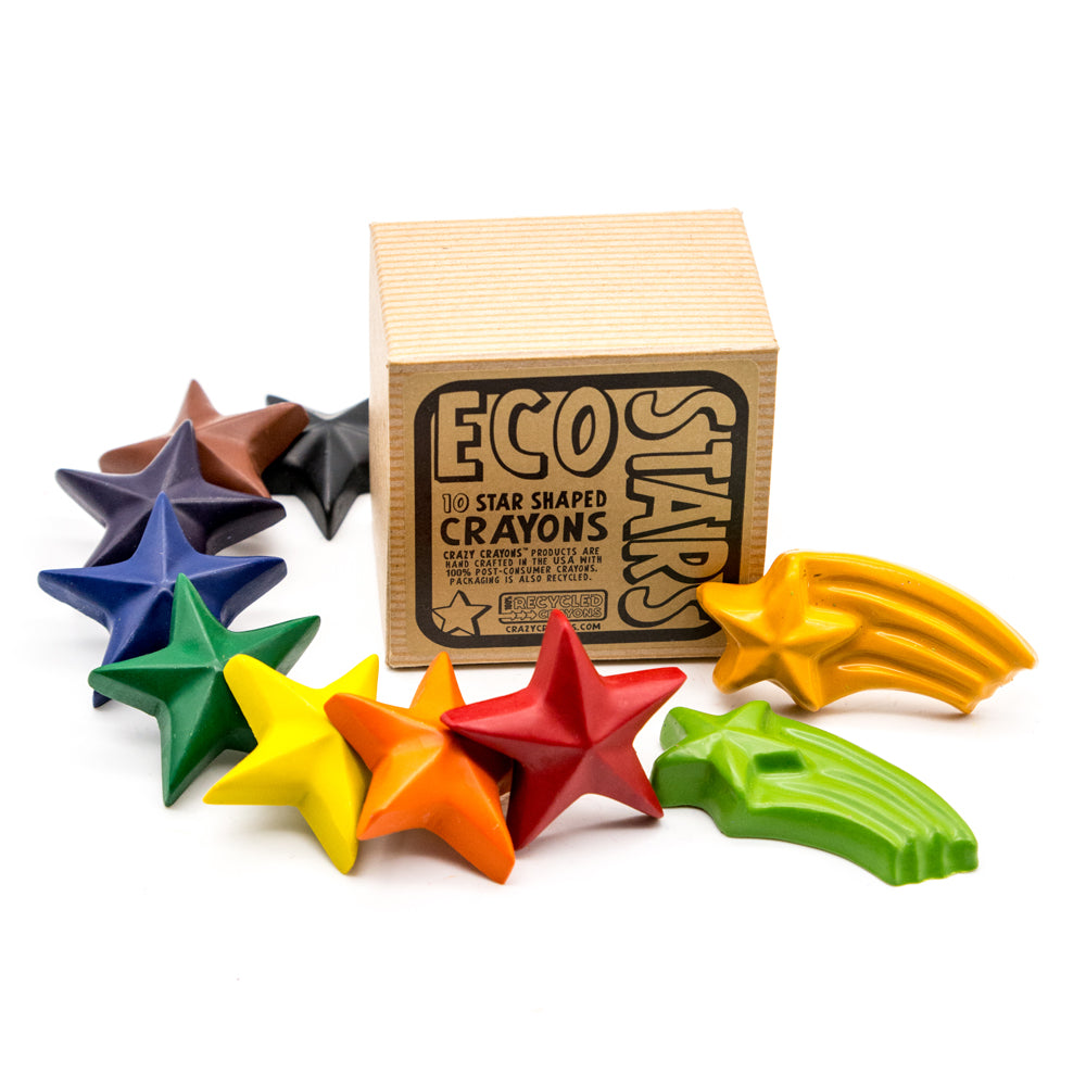 Recycled Eco Stars Crayon