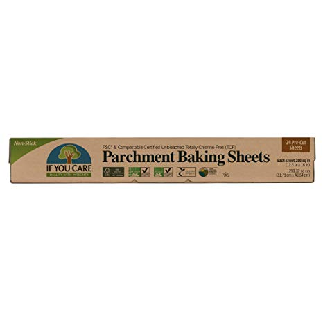 If You Care - Parchment Baking Sheets - Pre-Cut Sheets