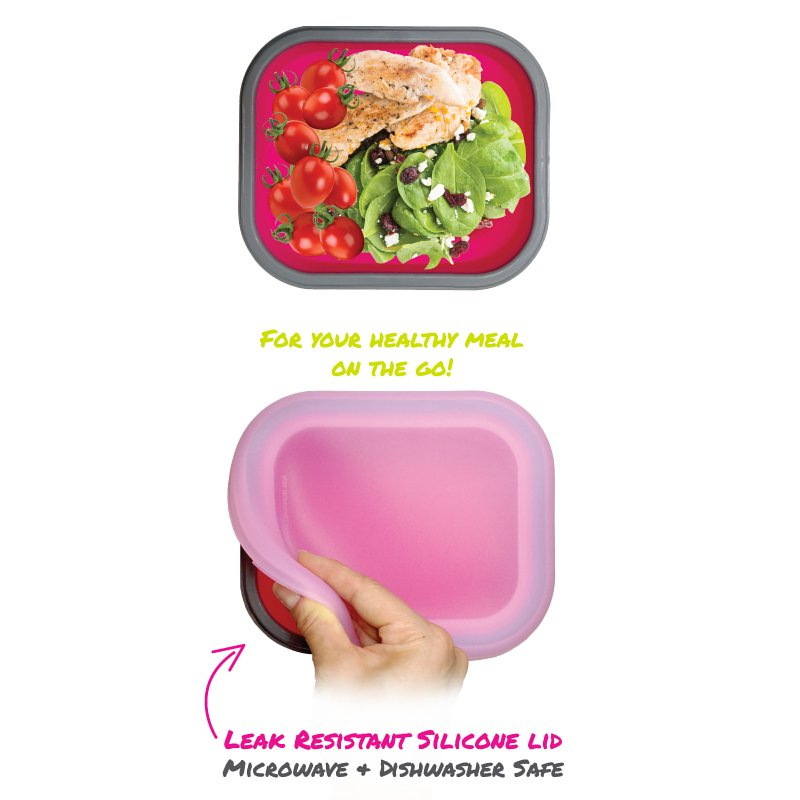 Silicone Collapsible Lunchbox - Medium