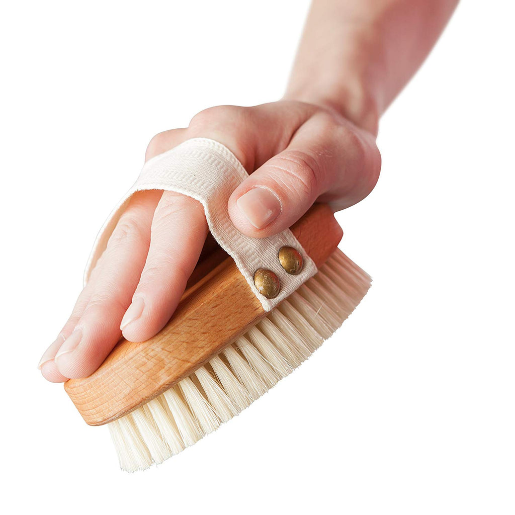 Curved Bath Brush (Removable Head)