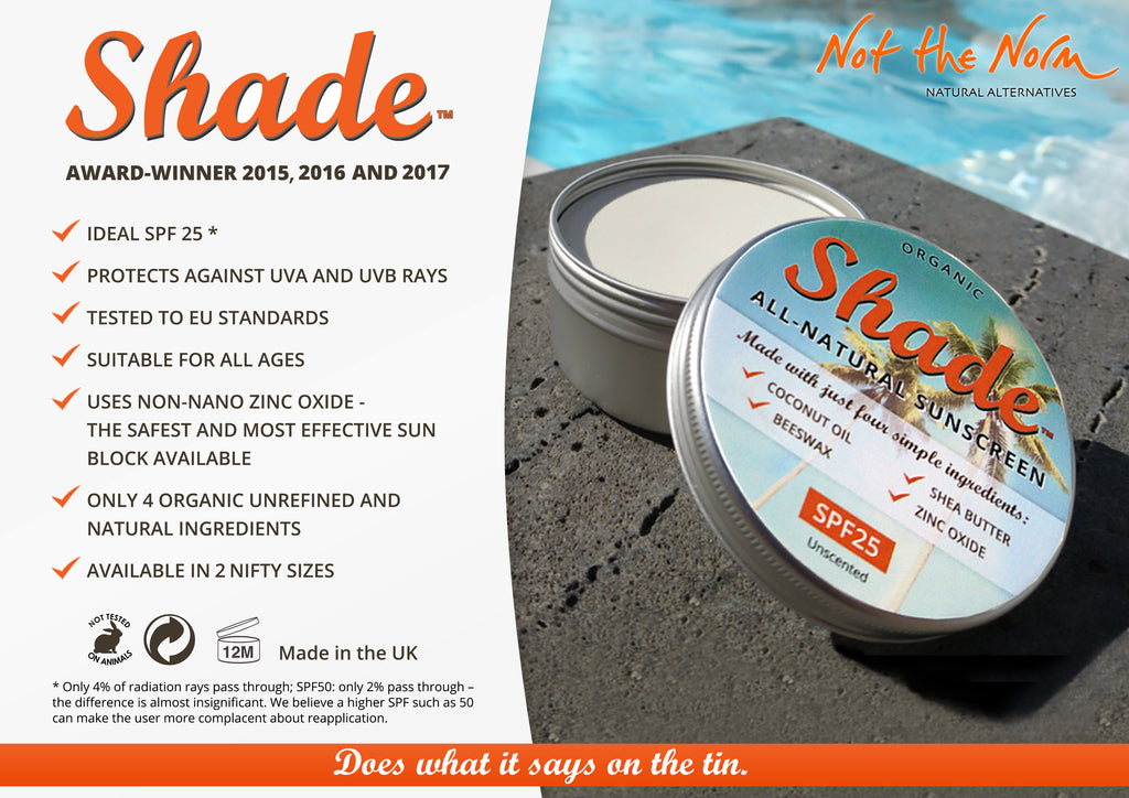 Shade: All Natural Sunscreen (Organic)