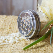 Grater Lid: Wide-Mouth Mason Jar