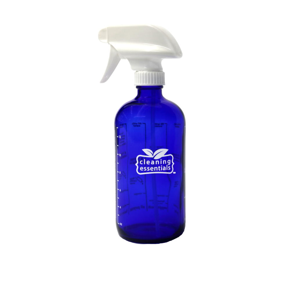 Cobalt Blue Cleaning Essentials Bottle