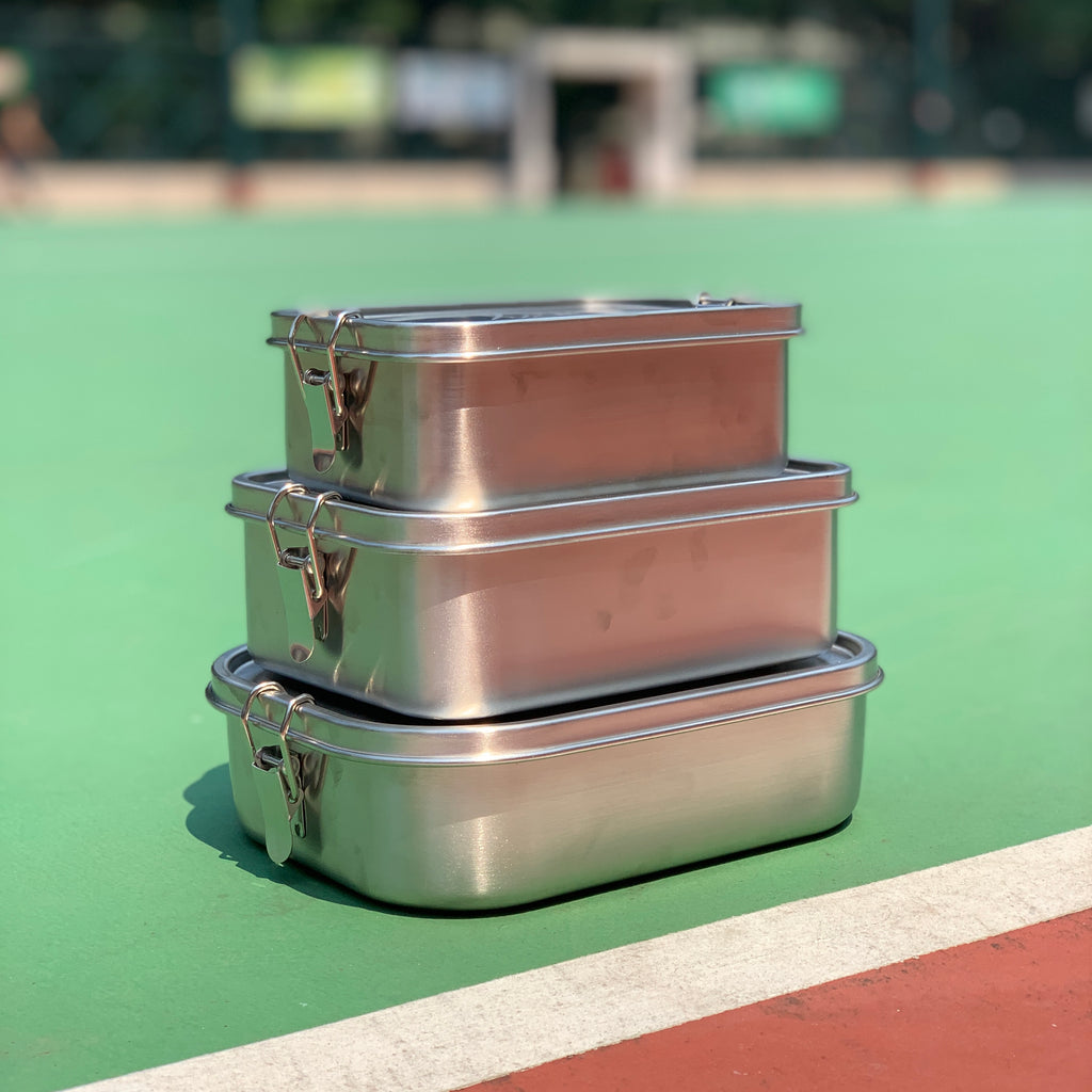 Leak-Proof Stainless Steel Lunchbox (Size S/M/L)