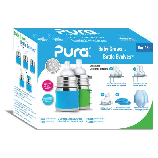Pura Infant Starter Set - 5oz (0m to 18m)