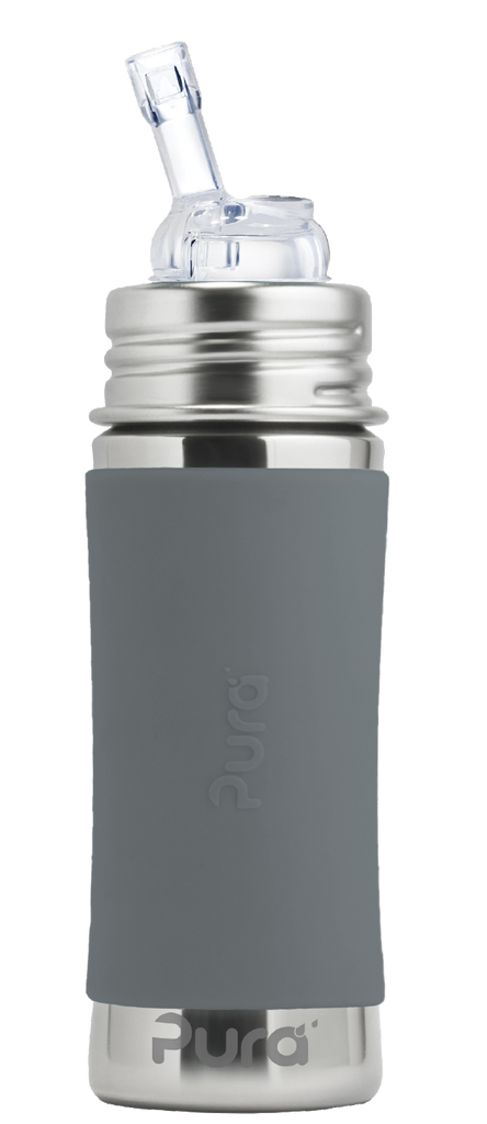 Pura Straw Bottle 11oz