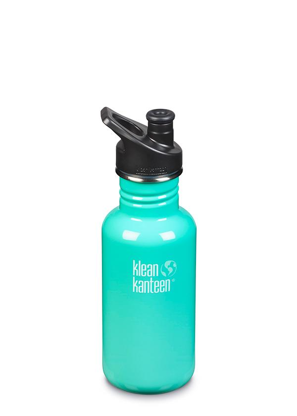 Klean Kanteen Classic w/ Sports Cap Water Bottle - 18oz/27oz